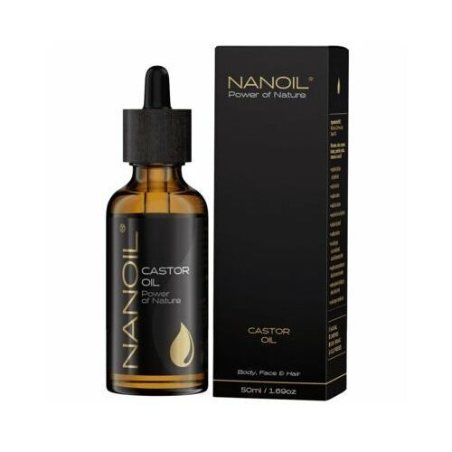 Olejek kosmetyczny NANOIL Rycynowy 50 ml