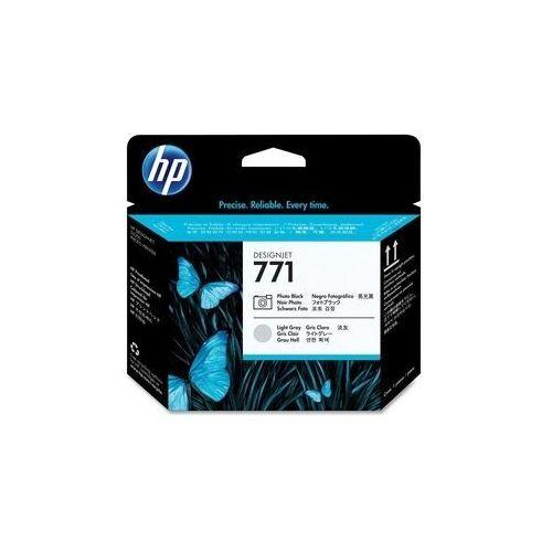 HP głowica Photo Black + Light Gray Nr 771, CE020A, CE020A