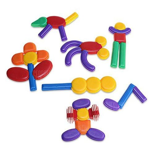 Cikao building block plastic puzzle assembling toy - 52pcs, marki Gearbest