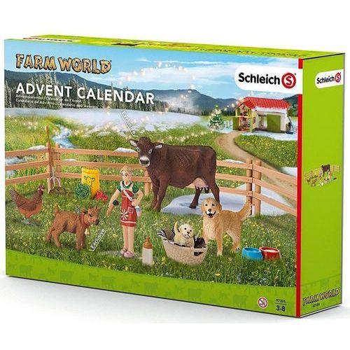 Schleich Kalendarz adwentowy, życie na farmie (4055744010828)