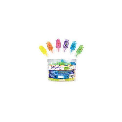 Euro-trade Zakreślacz mini zapachowy 6 kolorów 48 sztuk w tubie