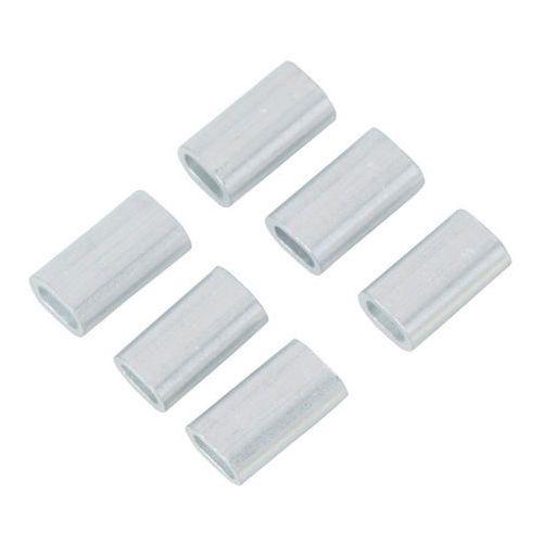 Zacisk linowy aluminiowy podłużny 2 mm 6 szt. marki Diall