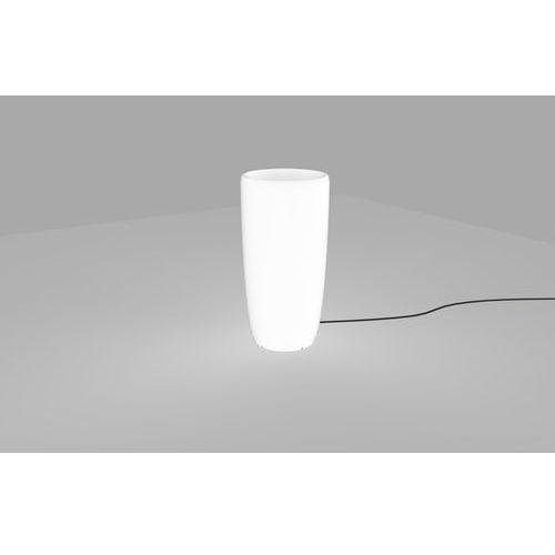 Lampa stojąca Nowodvorski Flowerpot 9712 oprawa zewnętrzna donica 1x60W E27 IP65 biała (5903139971294)