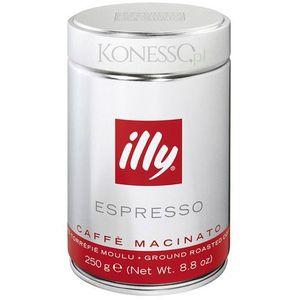 KAWA WŁOSKA ILLY Espresso Macinato Media puszka 250g (8003753900438)
