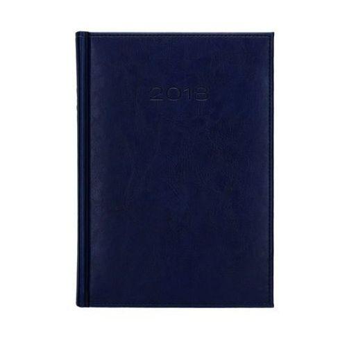 Kalendarz książkowy A5 Nebraska ciemnoniebieski 21D