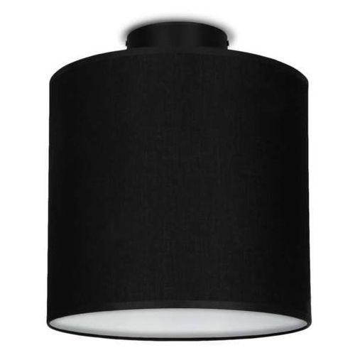 Plafon LAMPA sufitowa MIKA ELEMENTARY XS CP 1/C/BLACK Sotto Luce abażurowa OPRAWA okrągła czarna (5902429628733)