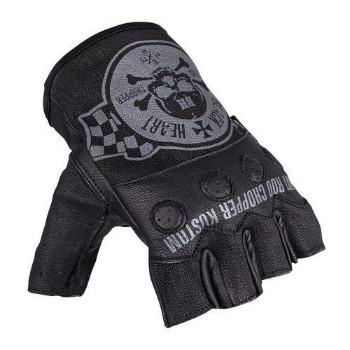 Męskie rękawice na chopper W-TEC Wipplar GID-16037, Czarny, XS (8596084083883)