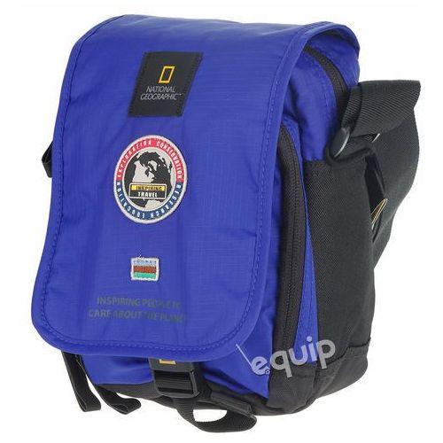 Torba na ramię National Geographic Explorer - niebieski