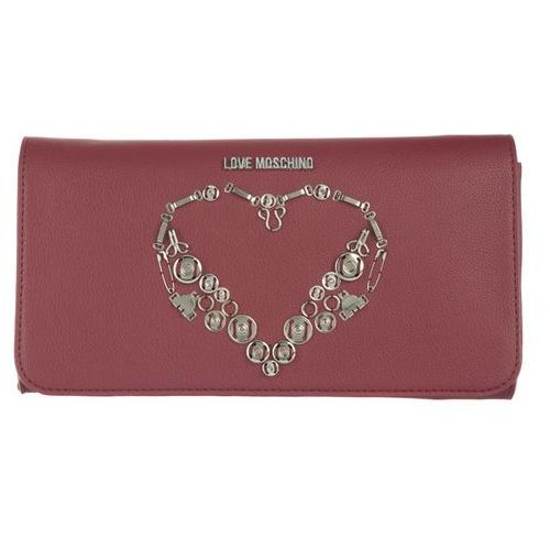 Love moschino kopertówka czerwony uni (8054653962958)