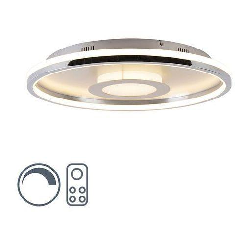 Lampa sufitowa aluminiowa 59 cm wraz z diodą LED z pilotem - Oculus