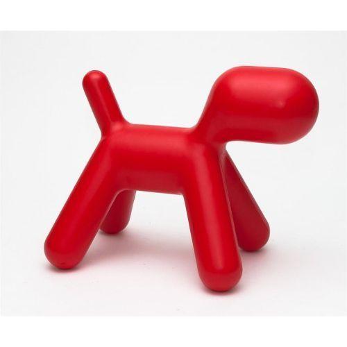 Siedzisko dziecięce Pies inspirowane Puppy - czerwony
