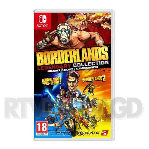 2k games Borderlands legendary collection nintendo switch (5908305230984)