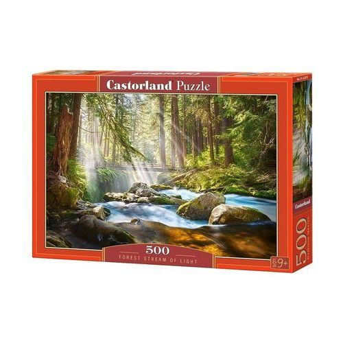 Castorland Puzzle forest stream of light 500 - castor (5904438052875)