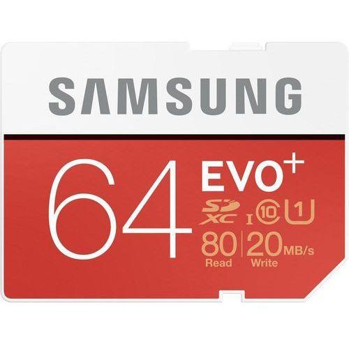 Samsung Karta pamięci sdxc  mb-sc64d/eu, 64 gb, class 10, uhs-i, 80 mb/s / 20 mb/s (8806086928618)