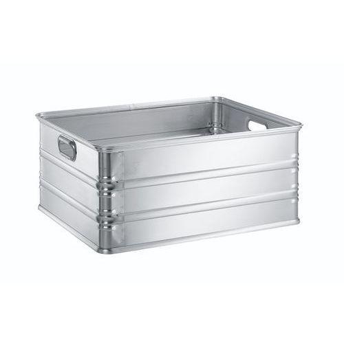 Zarges Skrzynka transportowa i skrzynka do ustawiania w stos z aluminium, poj. 117 l, n