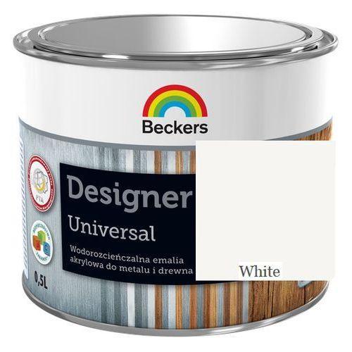 designer universal- white, 0.5 l (emalia akrylowa do) marki Beckers