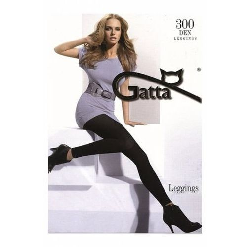 microfibra 300 den grafitowy legginsy marki Gatta