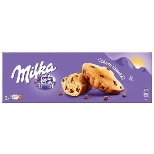 MILKA 140g Choco Chunks Ciastka biszkoptowe z kawałkami czekolady mlecznej   DARMOWA DOSTAWA OD 150 ZŁ! - produkt z kategorii- Ciastka, herbatniki, biszkopty