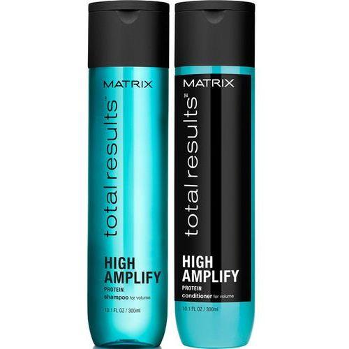Matrix Total Results High Amplify | Zestaw do włosów cienkich: Szampon 300ml + Odżywka 300ml