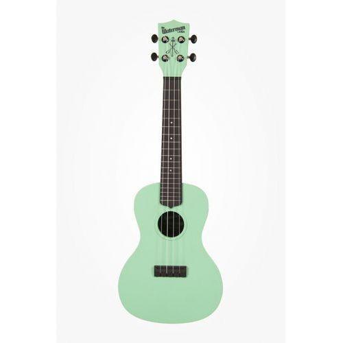Kala KA-CWB-GN Waterman, ukulele koncertowe z pokrowcem, czarno-zielony