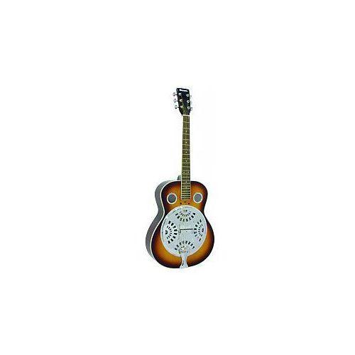 Dimavery RS-300 Resonator Guitar, sunburst, gitara akustyczna