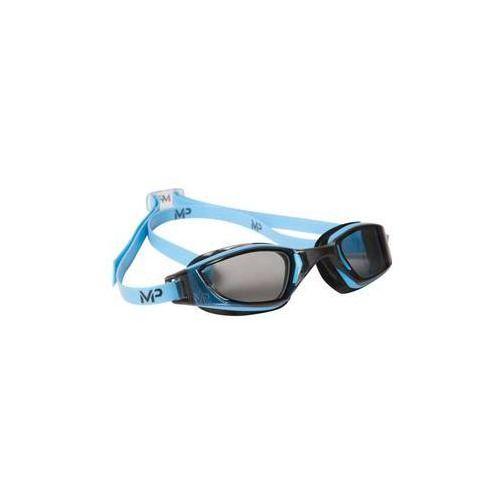 Michael phelps aqua sphere Męskie okulary pływackie xceed dark czarne/niebieskie