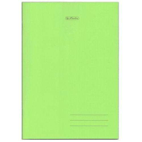 Zeszyt a5 60k w linię okładka z folii pp - zielony marki Herlitz