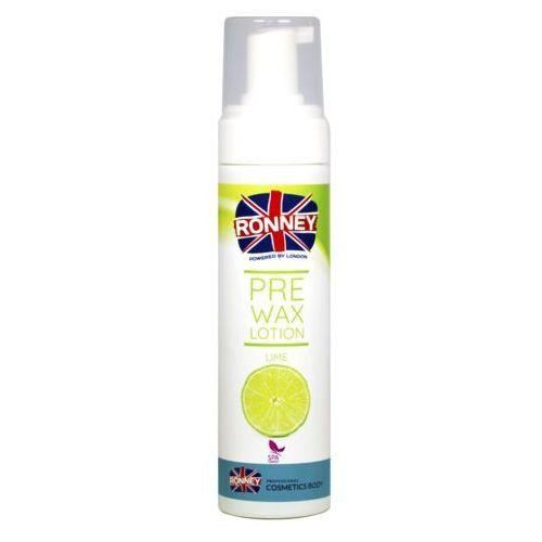 Ronney pre wax lotion lime 200 ml - lotion w piance przed depilacją limonka 200 ml