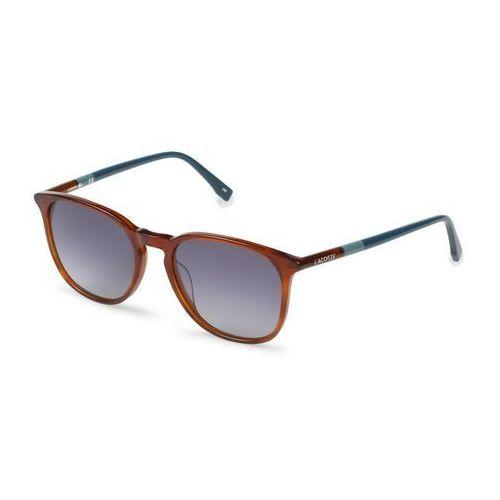Okulary Przeciwsłoneczne Unisex Lacoste L813S Brązowe, kolor brązowy