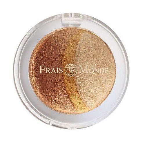 Frais Monde Thermal Mineralize Baked Trio Eyeshadow 2,2g W Cień do powiek odcień 10