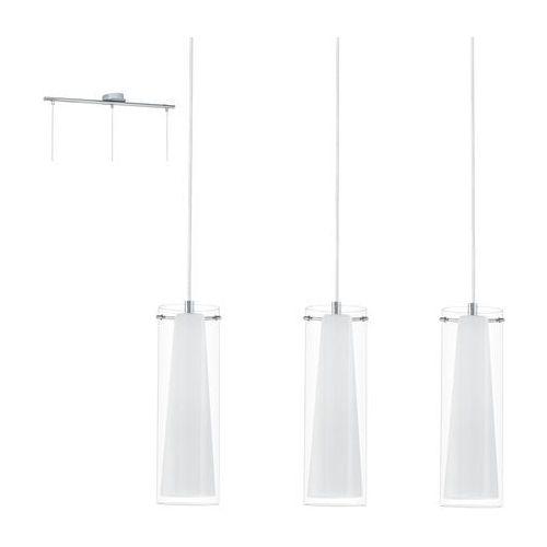 Pinto - lampa wisząca 3-punktowa biały marki Eglo
