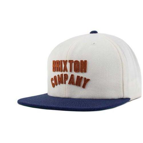 czapka z daszkiem BRIXTON - Woodburn Off White/Navy (OFFNV) rozmiar: OS