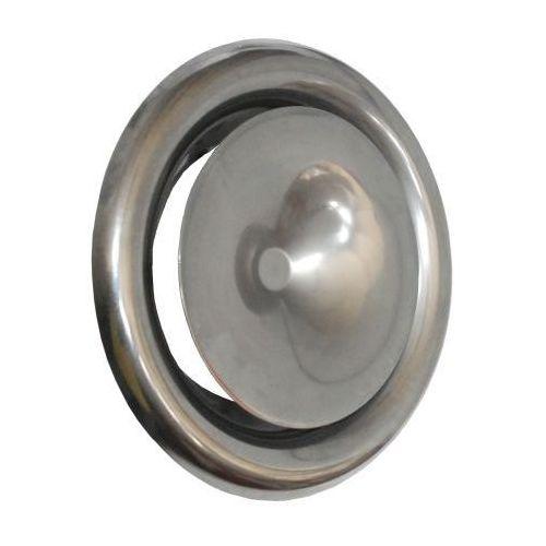 Anemostat SVS 125 mm zawór nawiewny. Stal kwasoodporna.