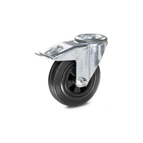 Proroll Ogumienie pełne na feldze z tworzywa, Ø x szer. kółka 125x38 mm, rolka skrętna z