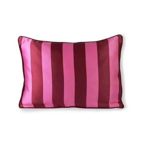 HKliving Satynowo-aksamitna poduszka różowo/fioletowa (35x50) TKU2090 (8718921035262)