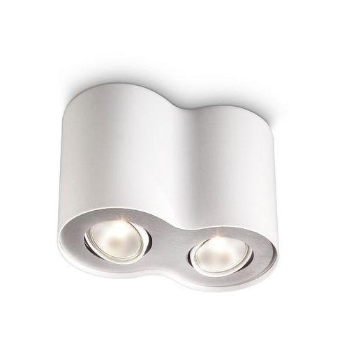 Philips Oprawa oczkowa pillar 2 x 50 w gu10 biała
