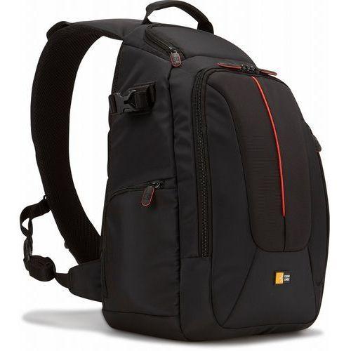 Case logic dcb318 slr sling-plecak w zestawie: aparat może pełnić & stativhalterung, czarny (0085854221474)