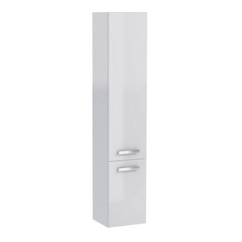 Słupek łazienkowy wysoki Mirano Vika 30 cm biały, kolor biały