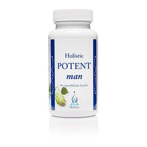 Potent man  - wsparcie sprawności seksualnej mężczyzn suplement diety, 60 kaps marki Holistic
