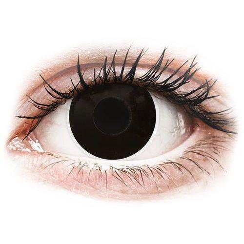 ColourVUE Crazy Lens - BlackOut - zerówki (2 soczewki), E555-23528