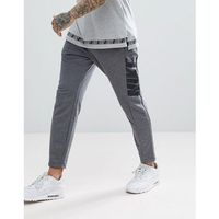 Nike Hybrid Joggers In Tapered Fit In Grey 885947-071 - Grey, w 4 rozmiarach