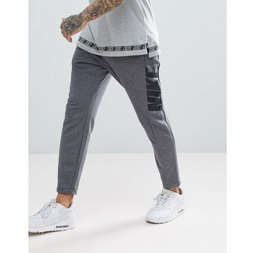 Nike Hybrid Joggers In Tapered Fit In Grey 885947-071 - Grey, w 4 rozmiarach