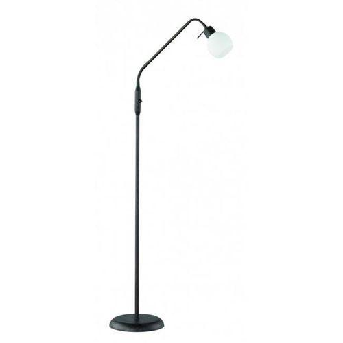 Trio -leuchten freddy lampa stojąca led ciemnobrązowy, rudy, 1-punktowy - dworek/vintage - obszar wewnętrzny - freddy - czas dostawy: od 2-3 tygodni (4017807257861)