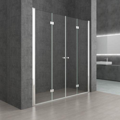 Swissliniger Drzwi prysznicowe składane liniger d1900 dual