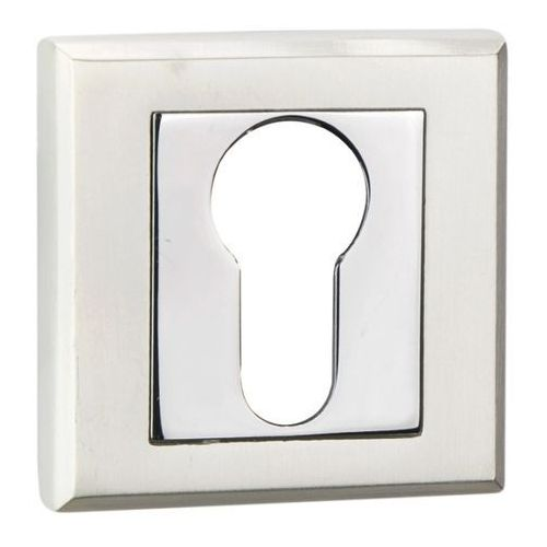 Szyld drzwiowy Schaffner Clara na wkładkę perła / chrom, SLYPE/CR