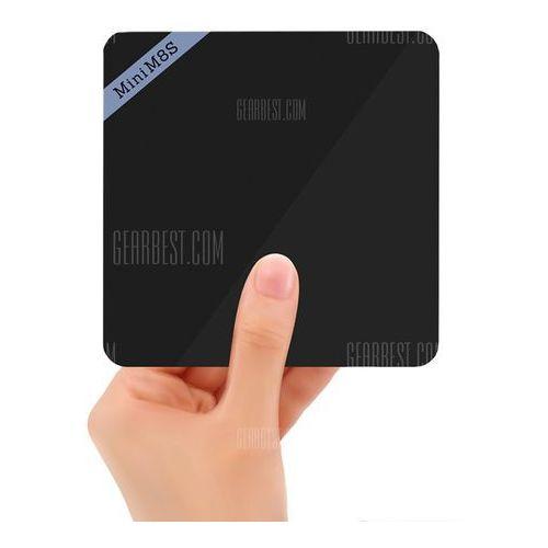 Mini M8S II 4K Smart TV Box Android Amlogic S905X Quad Core Processor z kategorii Pozostałe