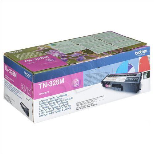 BROTHER Toner magenta TN328M (6000 str) do HL-4570CDW/ HL-4570CDWT / DCP-9270CDN / MFC-9970CDW, kup u jednego z partnerów