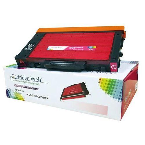 Cartridge web Toner cw-s510mn magenta do drukarek samsung (zamiennik samsung clp-510d5m) [5k]