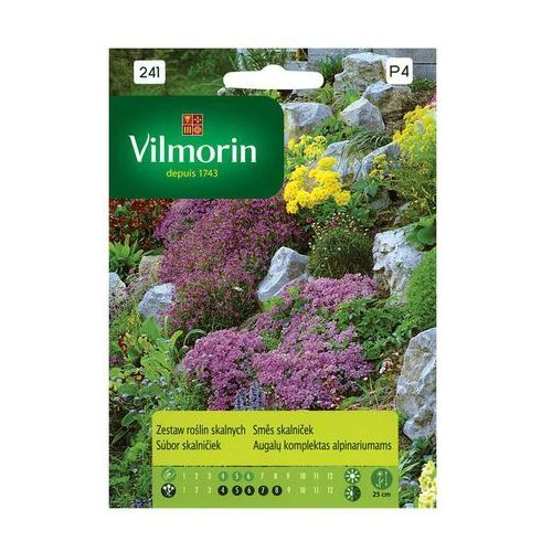 Vilmorin Zestaw roślin skalnych rośliny ozdobne 2g
