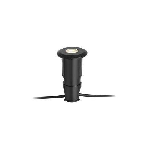 Oczko tarasowe GARDEN 24 IP44 czarne aluminium LED MARKSLOJD (7330024577091)